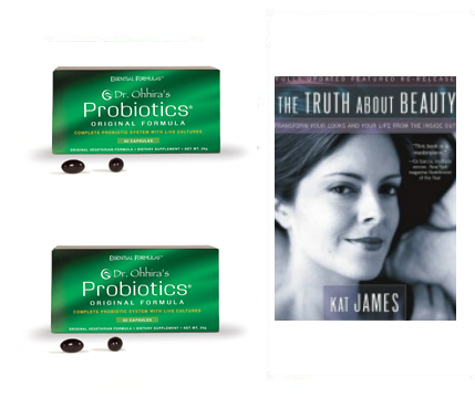 2 boxes Dr. Ohhira's Probiotics and 1/2 off Kat James Book
