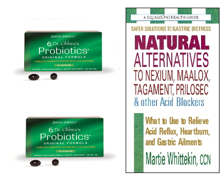 2 Dr. Ohhira's Probiotics (60) AND Free Book by Martie Whittekin